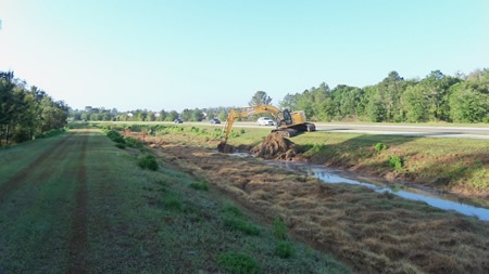 Roadside Ditch Maintenance
