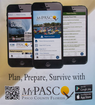 My Pasco App graphic
