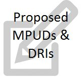 Proposed MPUD and DRIs