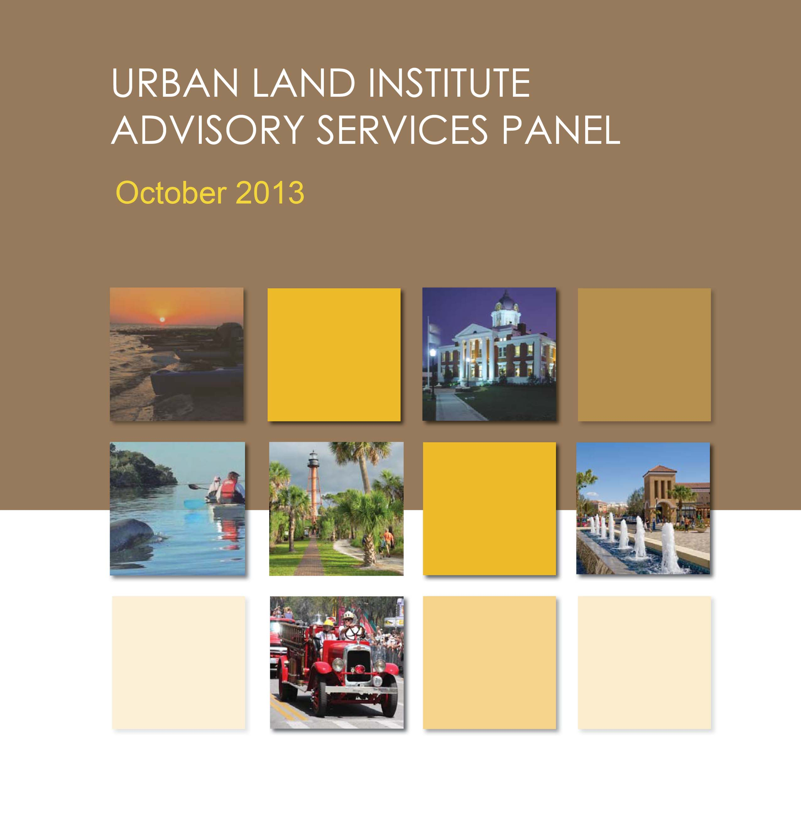 Urban Land Institute (ULI) Panel