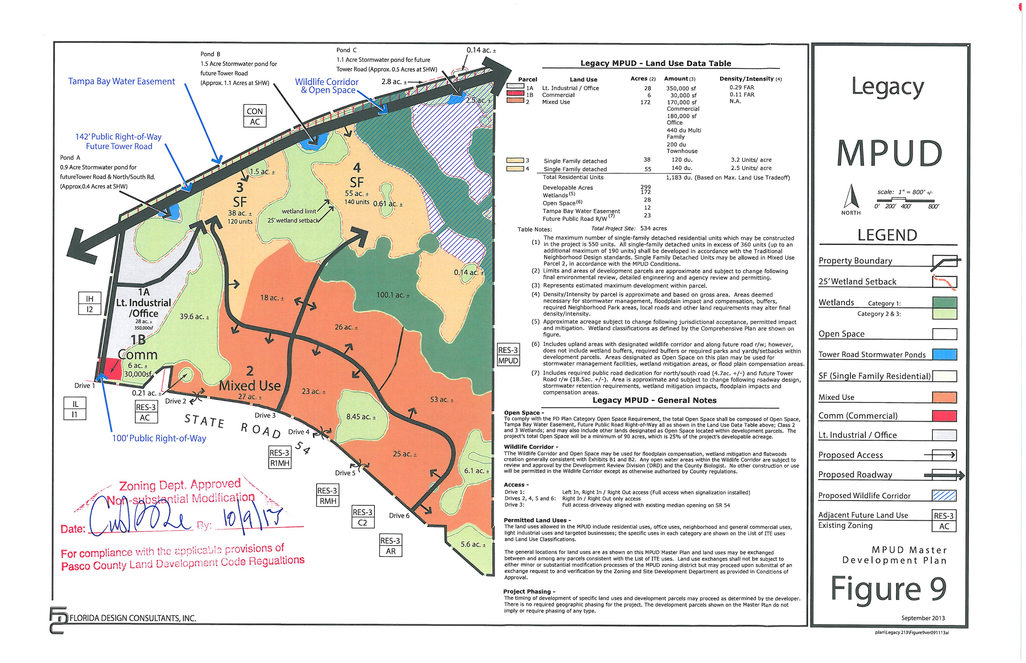 Legacy Approved MPUD Plan