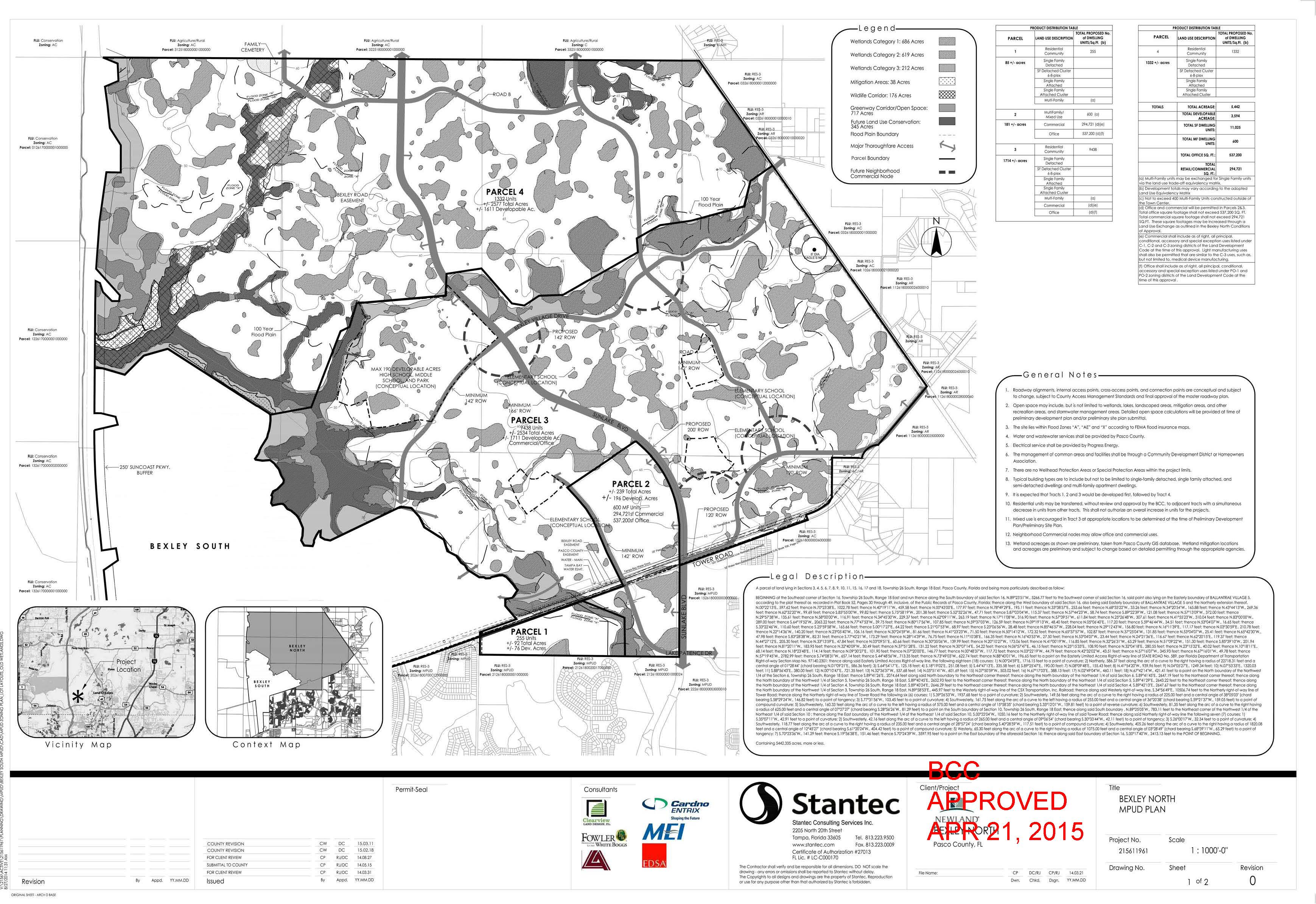 Bexley North MPUD Plan