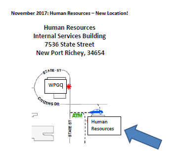 Location of Human Resources