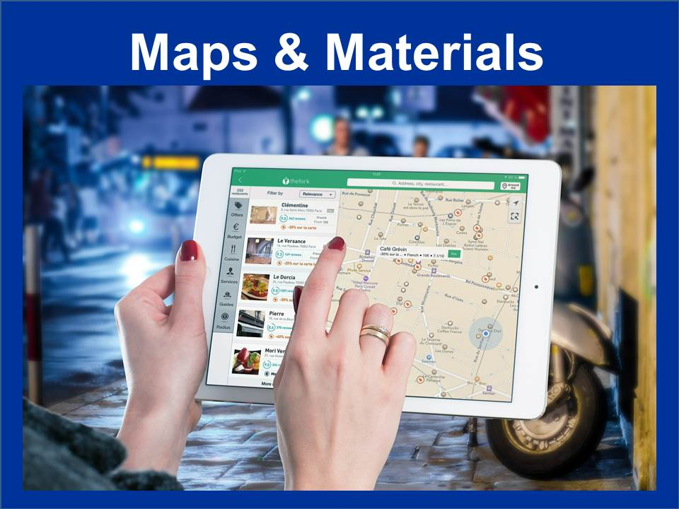 Maps and Materials