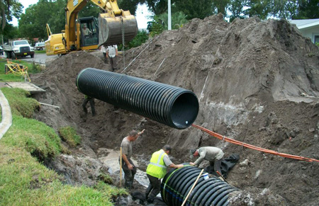 Ditch Pipe