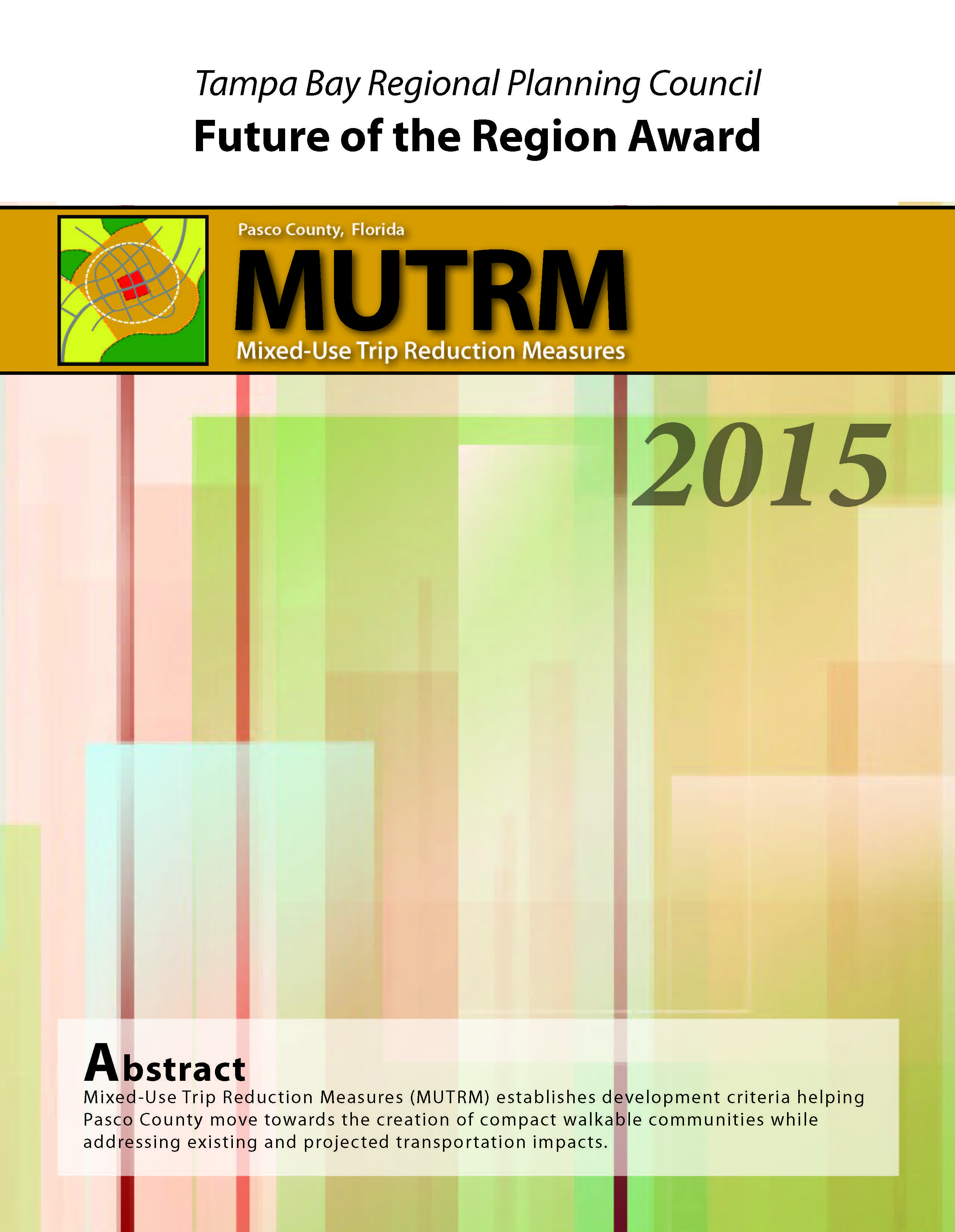 MUTRM Future of the Region Award