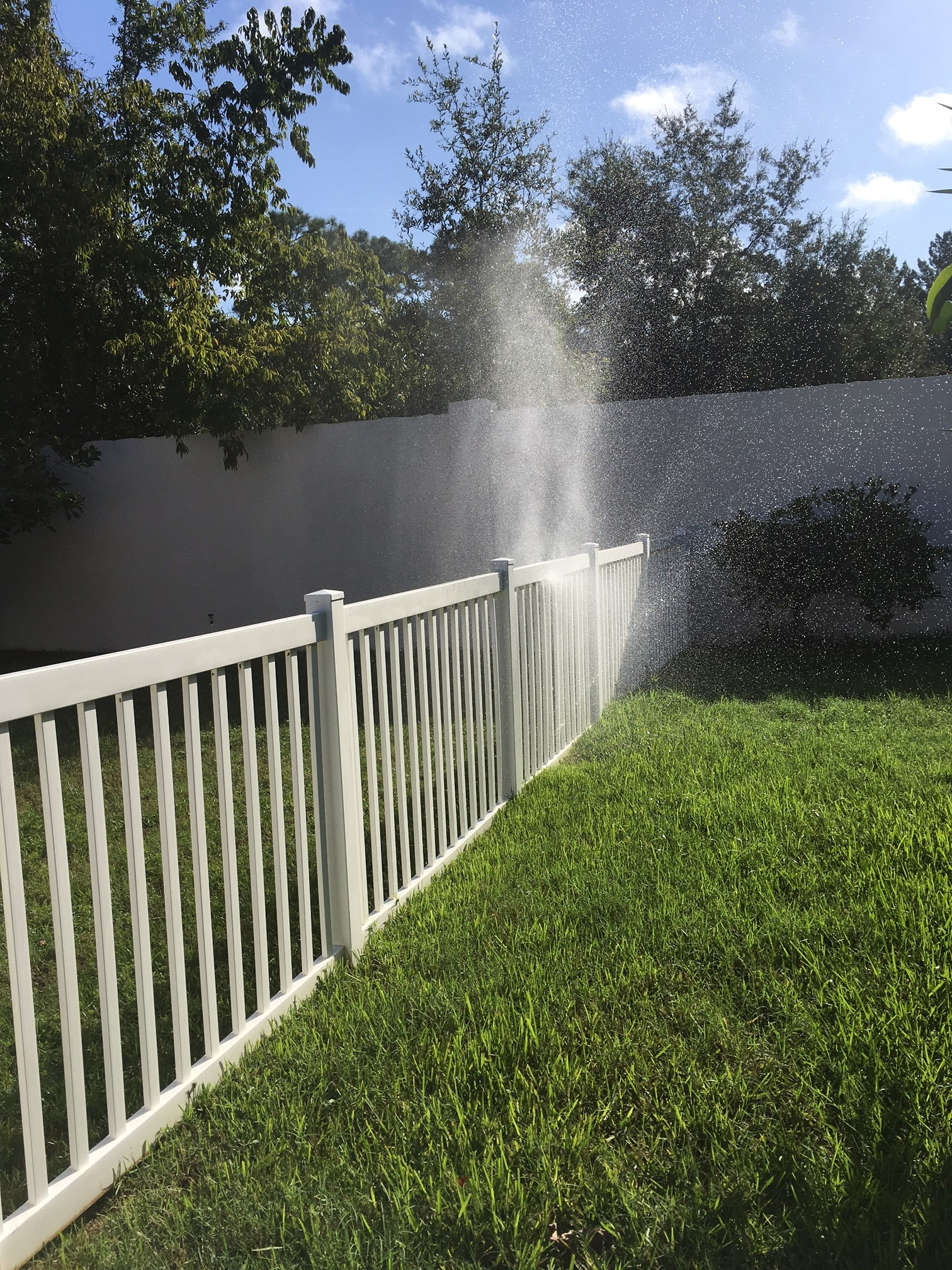 Broken Sprinkler