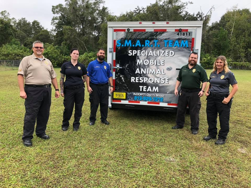 SMART Trailer and Animal Control Team
