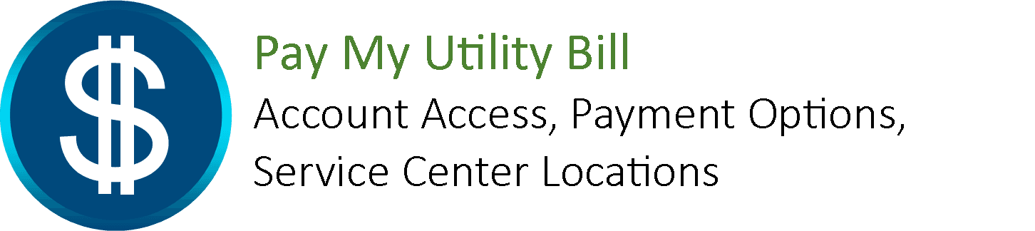 Pay My Utility Bill dark clickable icon