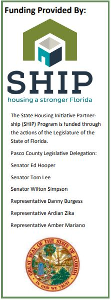 The State Housing Initiative Partnership (SHIP) Program is funded through the actions of the Legisla