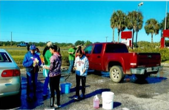 4-H Unidos Fundraiser Car Wash 2
