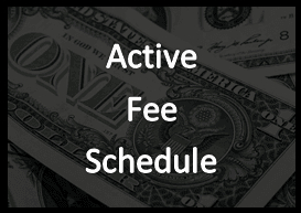 Active Fee Schedule