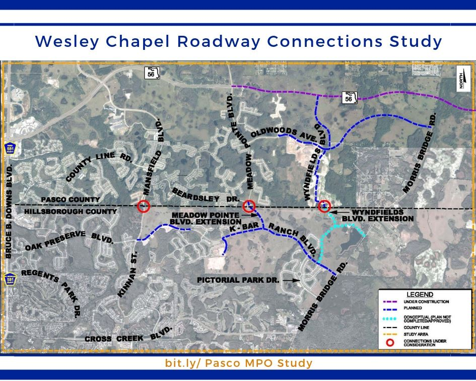 wesley chapel roadway connections study