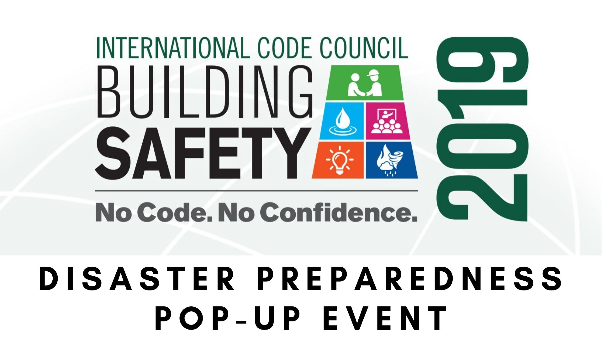 disaster preparedness pop-up event