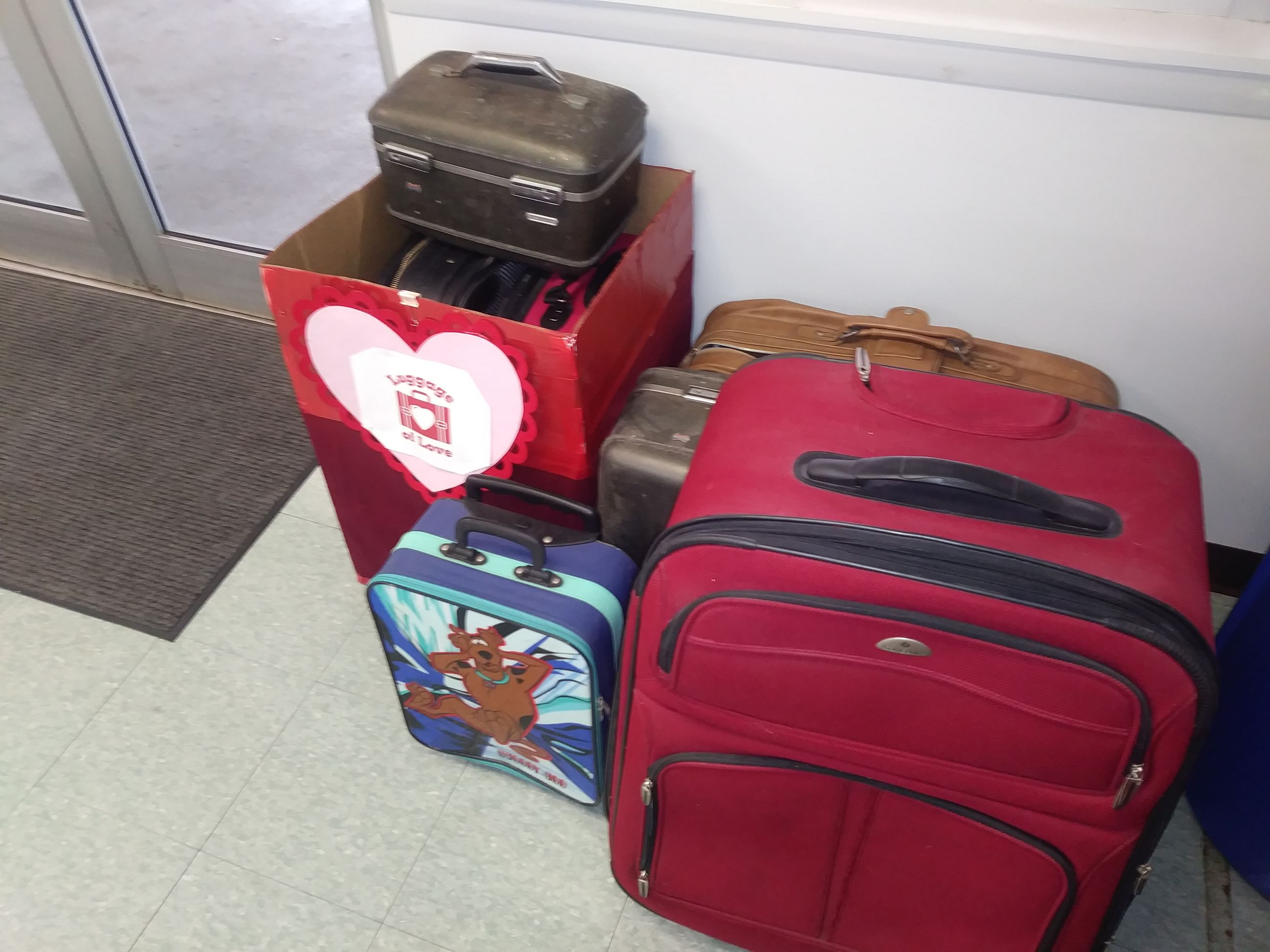Luggage of Love Donations Received One Stop Shop