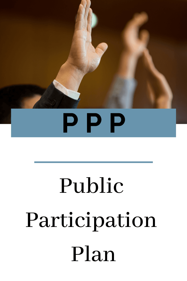 Public Participation Plan Button