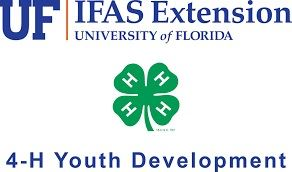 UF IFAS Extension 4H Youth Development Logo