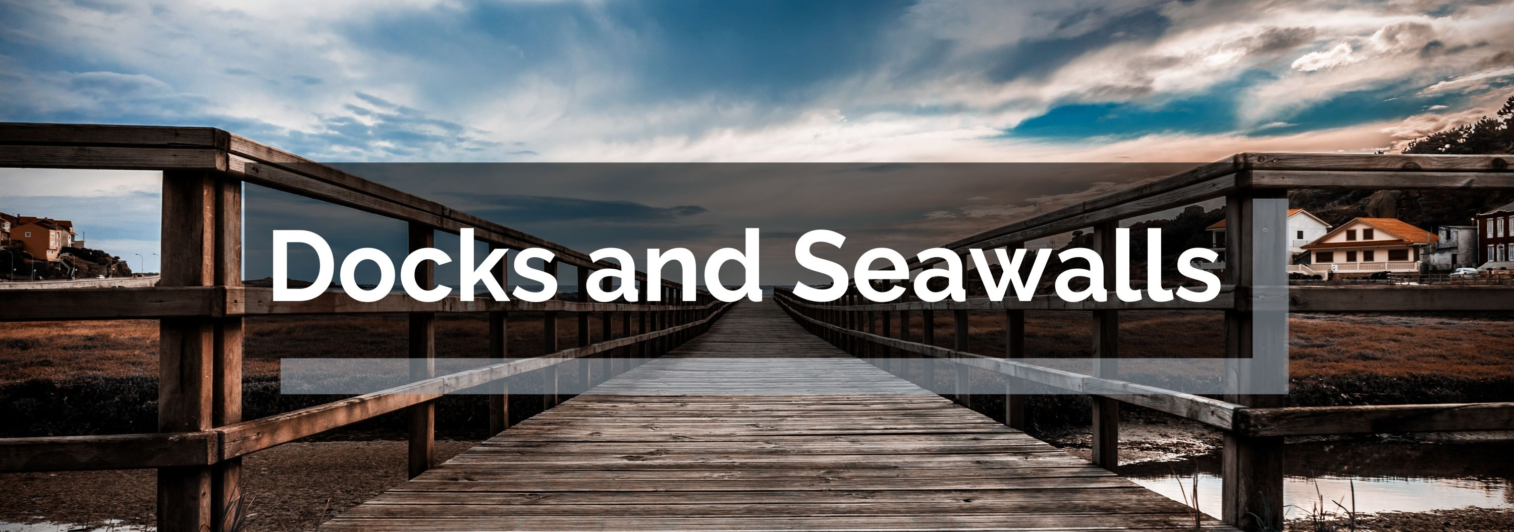 Docks and Seawalls Banner