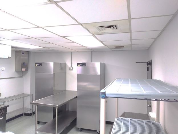 One Stop Shop Incubator Kitchen Fridge Freezer Working Tables