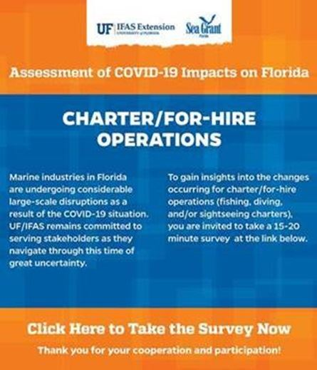 UF Survey Charter For-Hire Flyer