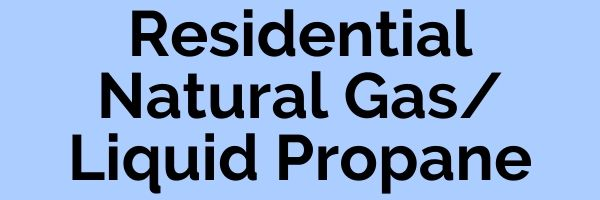 Residential Natural Gas Liquid Propane Button