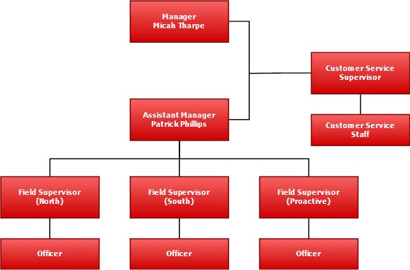 Code Enforcement Chain of Command