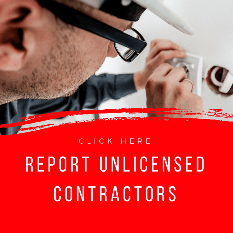 Unlicensed Contractors