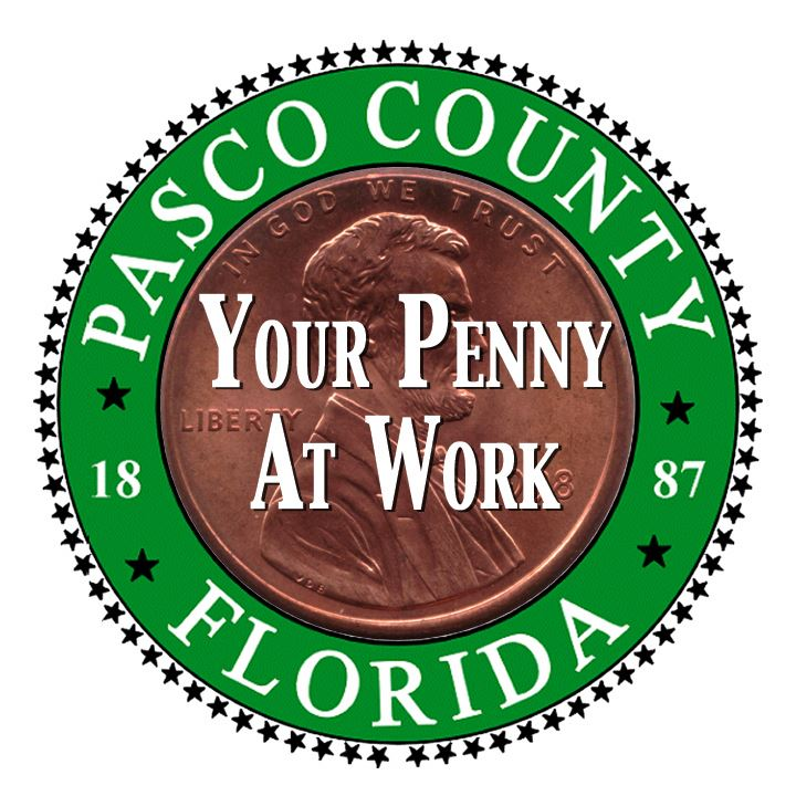 Penny in Pasco County Seal
