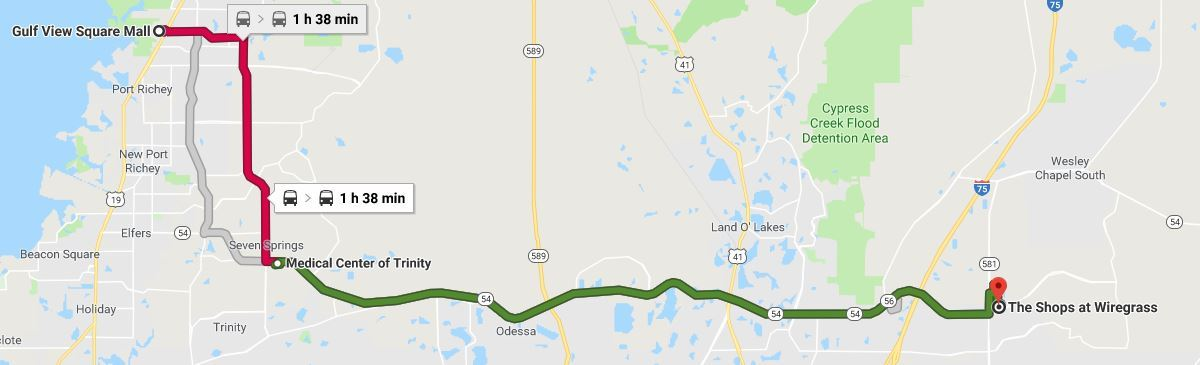 How To Guide for Using Google Maps | Pasco County, FL ... Google Map Directions Public Transportation on google maps bicycle routes, google maps by car, google maps traffic cameras,