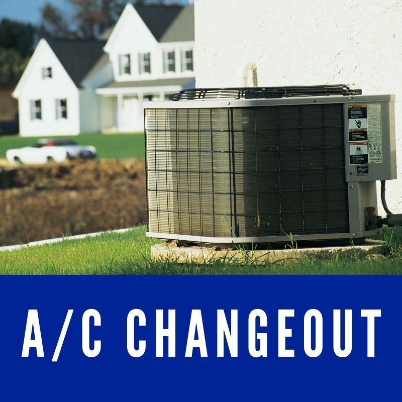 A/C Changeout Button