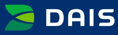 Dais Trademark Logo in green