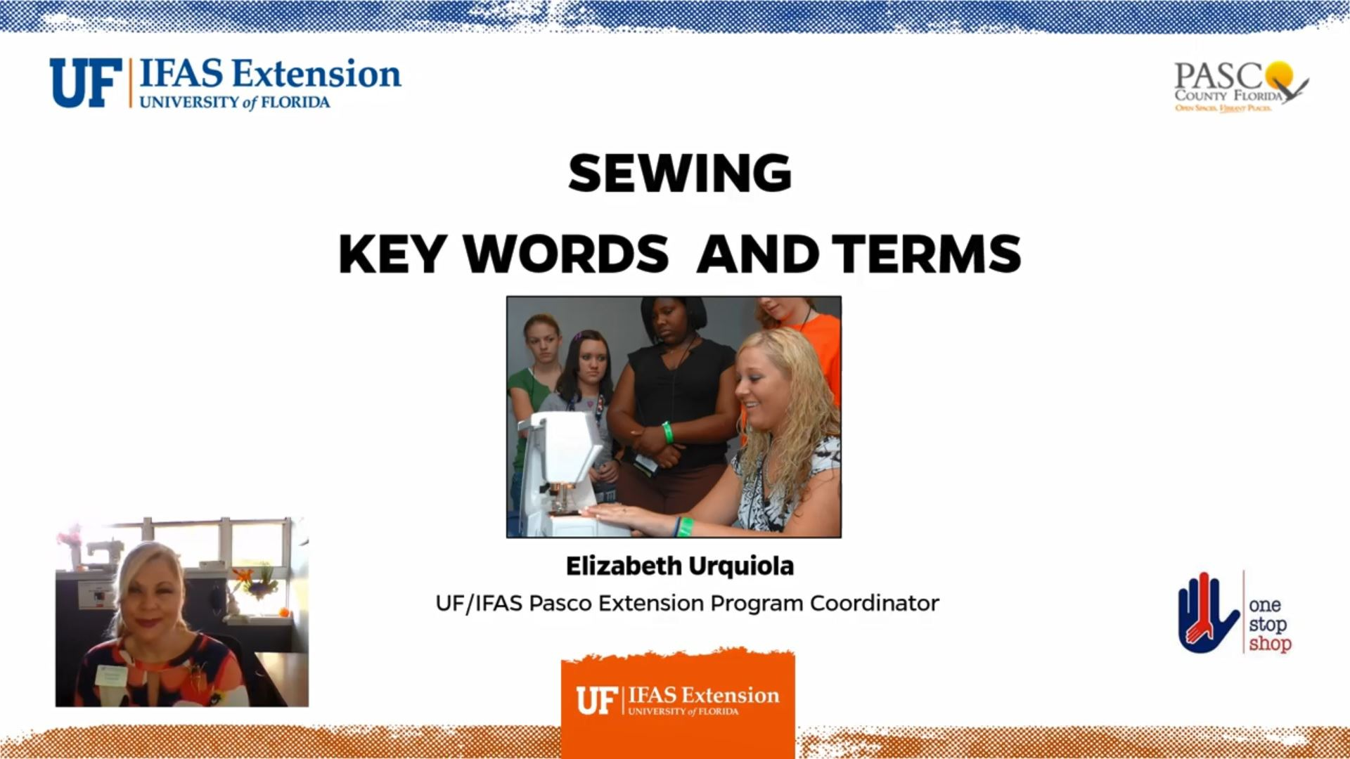 UF IFAS Sewing Key Words and Terms Opens in new window