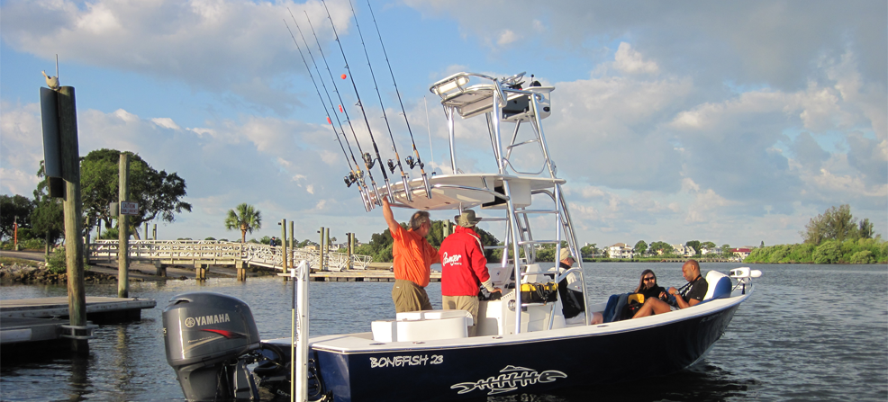 Snook, Redfish, Cobia and Tarpon are plentiful off Pasco.