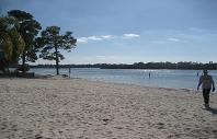 Anclote River Beach Area