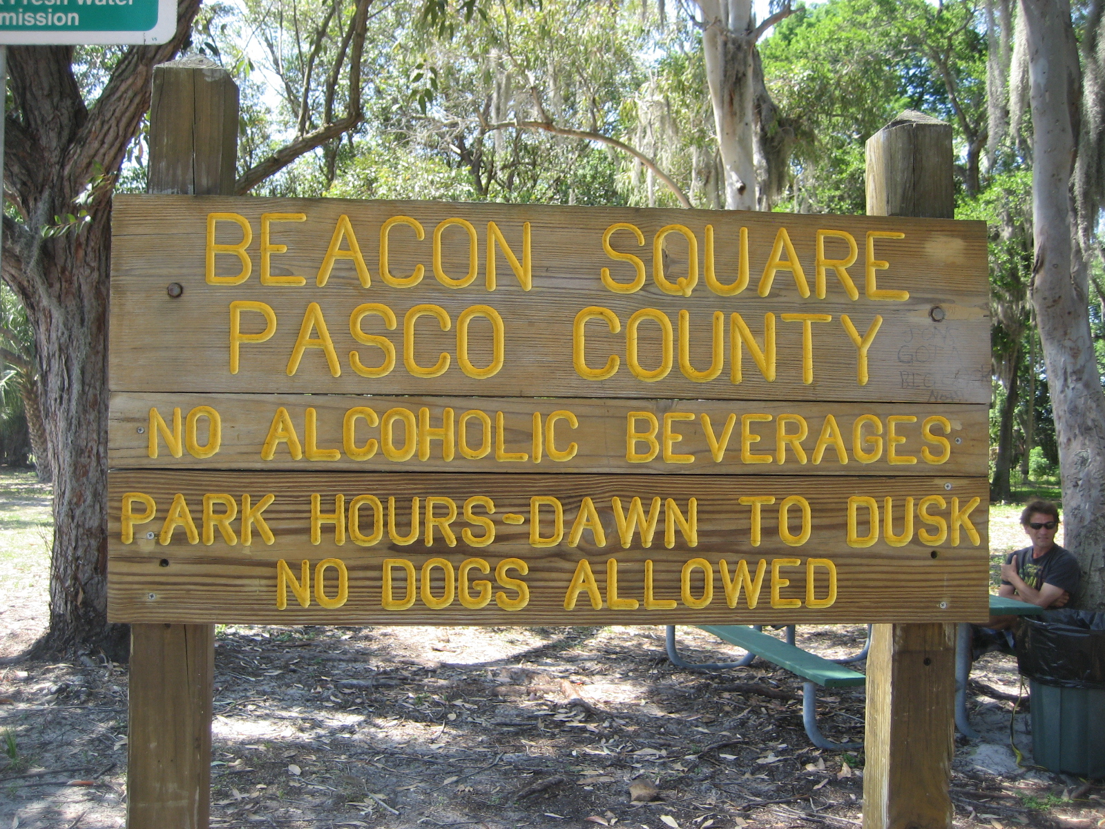 Beacon Square Park Sign