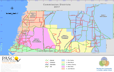 Commissioners District Map
