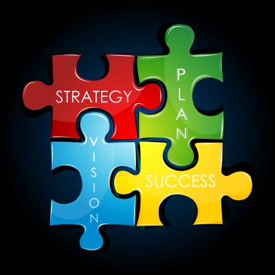 business plan puzzle pieces