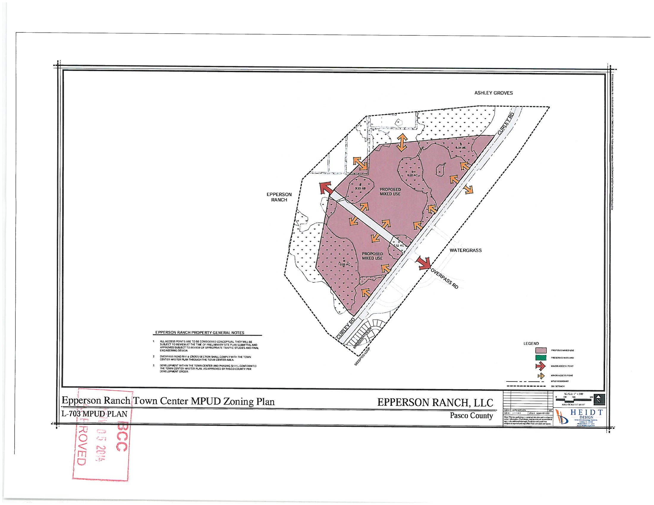 Epperson Ranch Town Center MPUD Plan