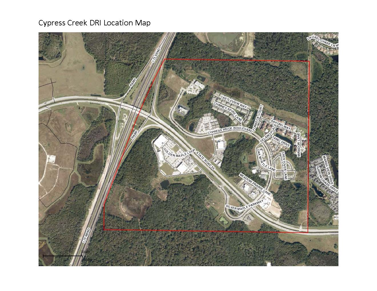 Cypress Creek DRI Location Map