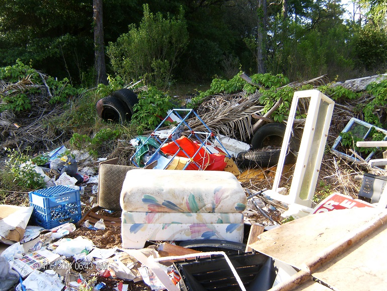 Illegal Dumping Violation
