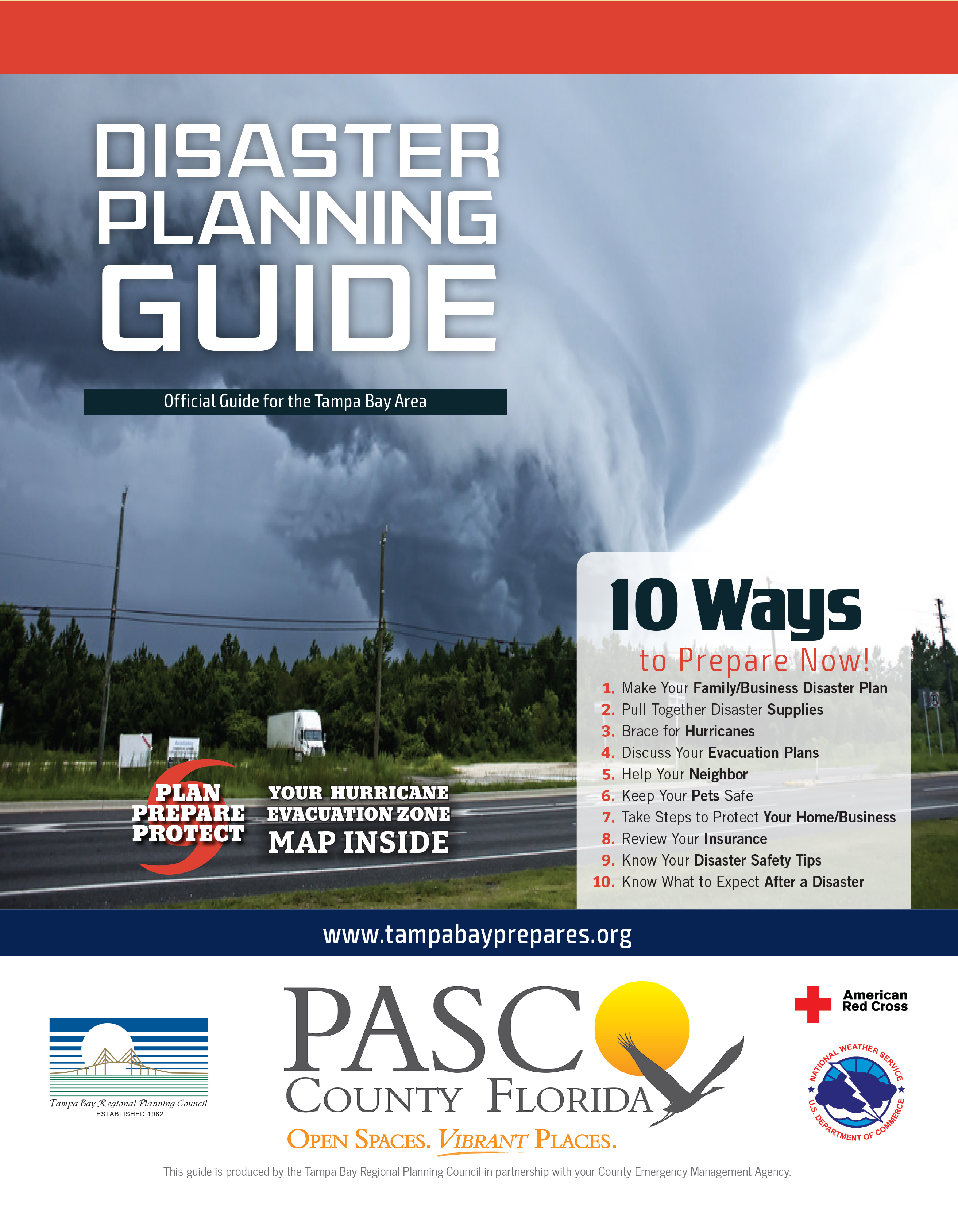 2016 Pasco Disaster Guide Cover