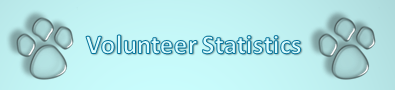 Volunteer Statictics