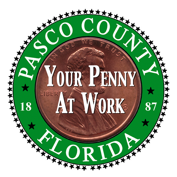 Penny for Pasco County Sign